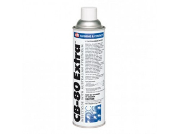 CB-80 Insecticide Dual Spray Action 0.5% Pyrethrin Aerosol -17 oz can