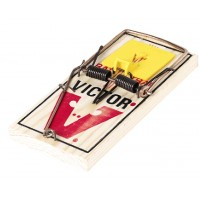 Victor M326 M9 Pro Rat Wood Snap Traps - 12/box