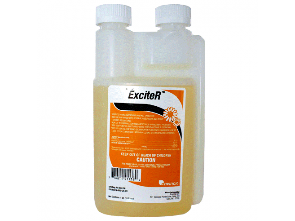 Exciter 6% pyrethrin, 60% piperonyl butoxide (1 pint)