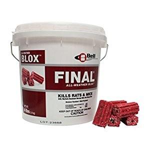 Final Blox Rodent Bait Poison – 18 lb Pail