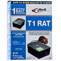 T1 Rat Pre-Baited Dispoable 4oz Rat Bait Stations