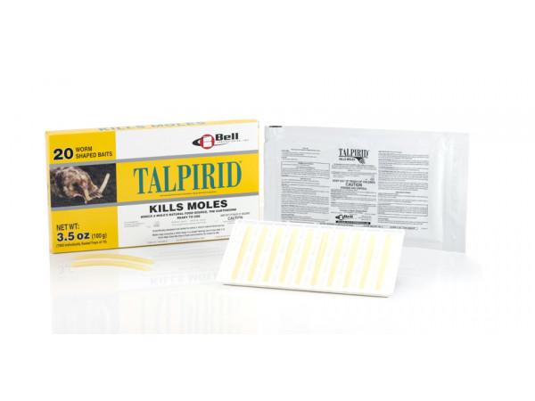 Talpirid Mole Bait (20 per box)