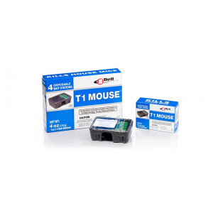 T1 Mouse Pre-baited Mouse Bait Station - 4 per box