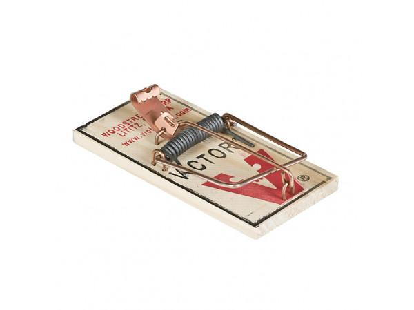 Victor M040 Metal Pedal Mouse Trap - 72 Traps/Case