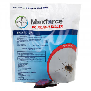 Maxforce FC Roach Killer Bait Stations - 72 per bag Fipronil Small
