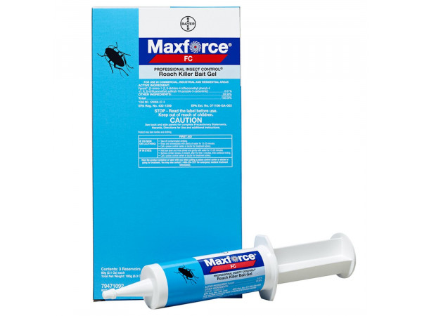 Maxforce FC Professional Insect Control Roach Killer Bait Gel