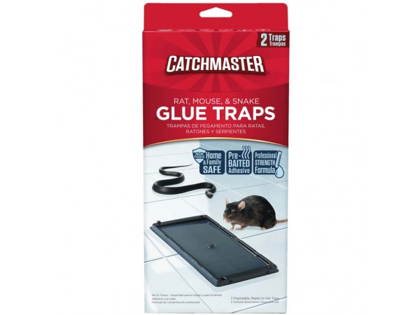 Catchmaster 48R Rat Glue Trays with Hercules Putty (24 x 2 boards - 48 total case)
