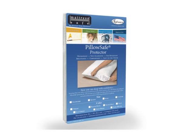 Mattress Safe® KleenCover PillowSafe Pillow Protector Standard