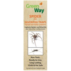 Greenway Spider and Silverfish Trap - 6 Pack