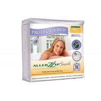 Protect-A-Bed AllerZip Bed Bug Mattress Cover – Smooth Encasement - QUEEN