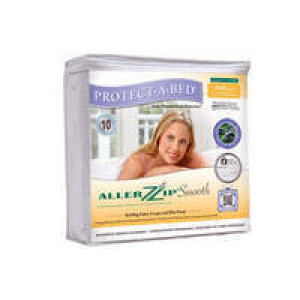Protect-A-Bed AllerZip Bed Bug Mattress Cover – Smooth Encasement - TWIN