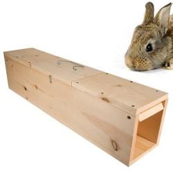 WCS™ Wooden Rabbit Trap Double Door