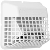 Universal Bird & Rodent Vent Guard (WHITE) - SINGLE