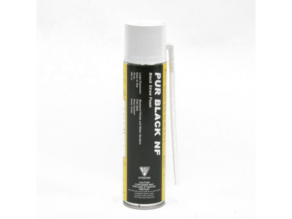 PUR Black NF foam 400 ml (Single Use) - SINGLE CAN (No HI sales)