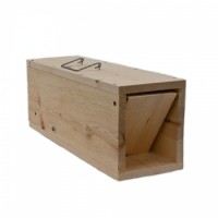 WCS™ Wooden Rabbit Trap with 1 oz. Apple Essence