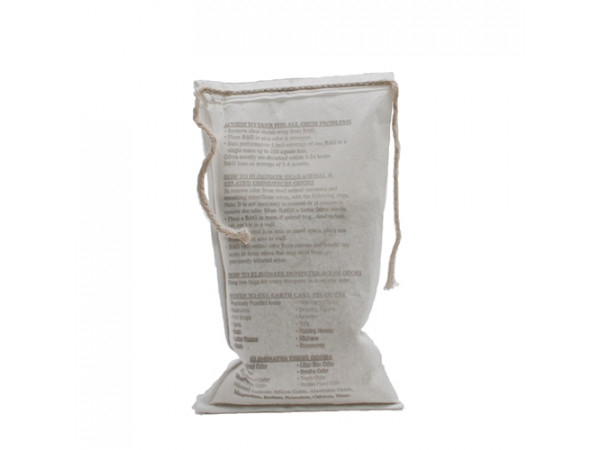 Earth Care Odor Removing Bag - 19 oz. in cloth bag (SINGLE)