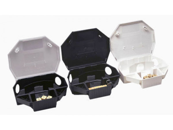 Aegis Rat Bait Stations -Black -  6 per case